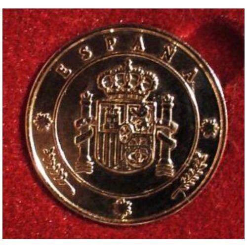 Coleccion Monedas Heraldicas - 13 Arras ISLAS Canarias ORO 24K - Estuche Lujo