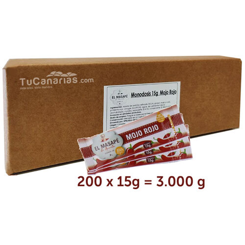 200 single-dose Red Mojo Masape Box 15g