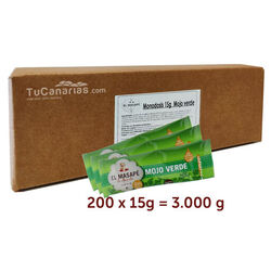 200 single-dose Green Mojo Masape Box 200x 15g
