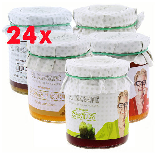 24 x Masape Artisan Jams 290g Combined to Choose